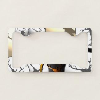 Deer Hunter Tag License Plate Frame