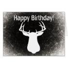 Deer Hunting Birthday Card