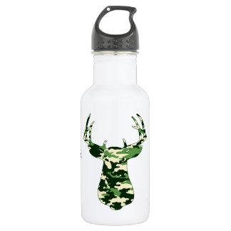 Deer Hunting Camo Buck 532 Ml Water Bottle