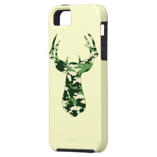 Deer Hunting Camo Buck Case For The iPhone 5