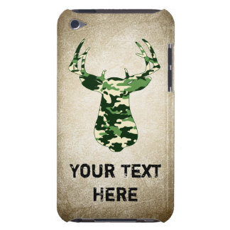 Deer Hunting Camo Buck iPod Case-Mate Cases