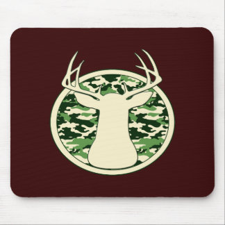 DEER HUNTING LOGO MOUSE PAD
