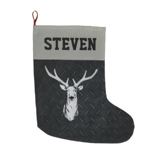 Deer Hunting Men's Christmas Stocking