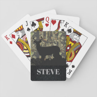Deer Hunting Name Playing Cards