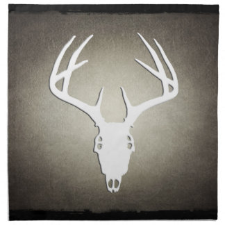 Deer Hunting Skull w Antlers Napkins