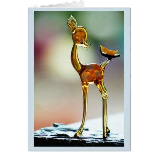 Deer in daylight card
