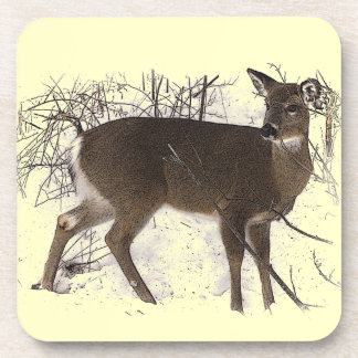 Deer in Snow Coaster
