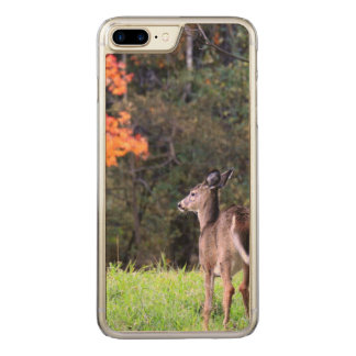 Deer in the Field in Autumn Carved iPhone 8 Plus/7 Plus Case