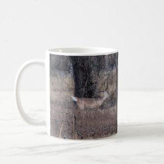 Deer in the field mug for cabin, lodge or man cave