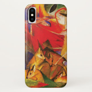 Deer in the Forest by Franz Marc Case-Mate iPhone Case