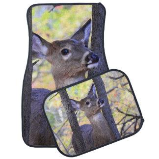 Deer in The Woods Car Mat