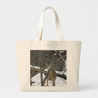 Deer In The Woods Shopping Bag