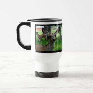 Deer in the Yard Travel Mug