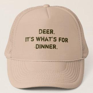 Deer. It's what's for dinner. Trucker Hat