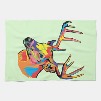 deer kitchen towels