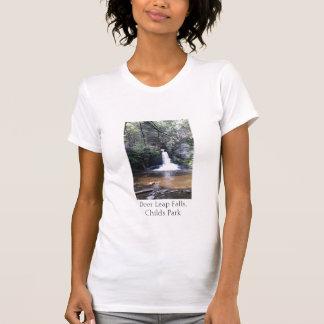 Deer Leap Falls, Childs Park, Pa, T-Shirt