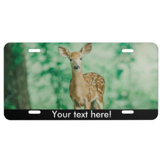 Deer License Plate