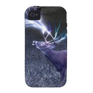 Deer Lightning Vibe iPhone 4 Case