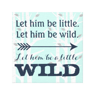 """Deer Little Man, Wild , 12""""x12"""", 1.5"""" Canvas Print"""
