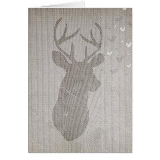 Deer Love | Buck Card