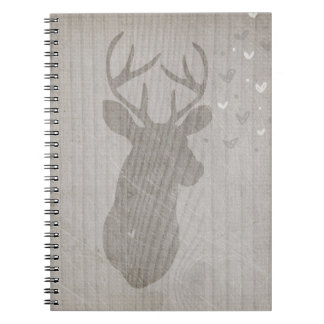 Deer Love | Buck Spiral Notebooks