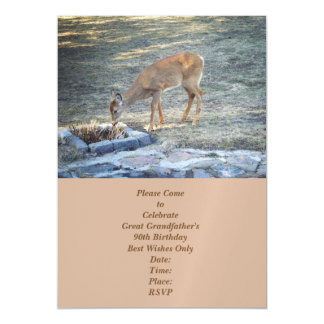 Deer Magnetic Invitations