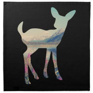 Deer Mountain Cloth Napkins
