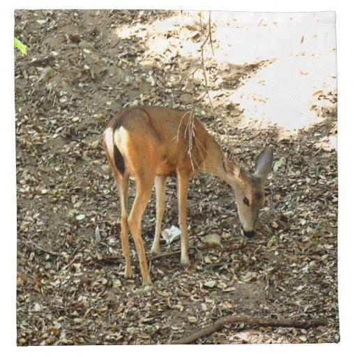Deer Printed Napkin