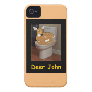 Deer or Dear John iPhone 4 Case-Mate Case