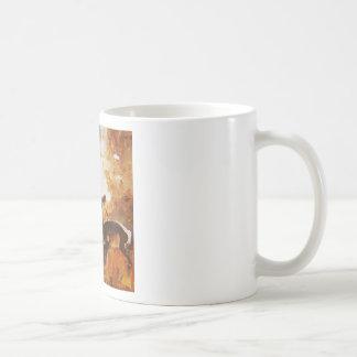 Deer painting coffee mug