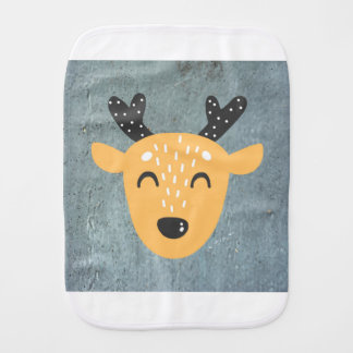 Deer Phase Burp Cloth
