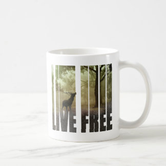 Deer Photo Print Coffee Mug