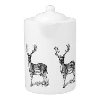 Deer Porcelian Teapot