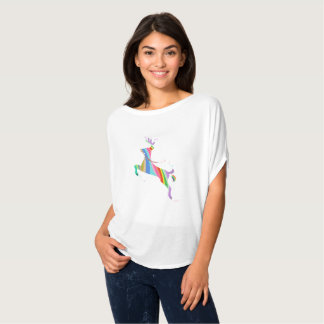 Deer Rainbow Animal T-Shirt