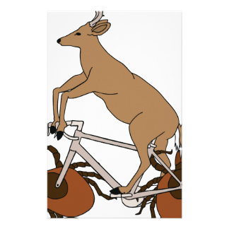 Deer Riding Bike With Deer Tick Wheels Stationery