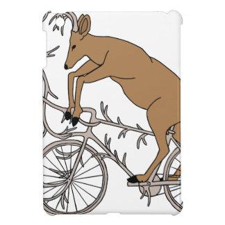 Deer Riding His Antler Bike iPad Mini Cover