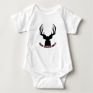 Deer Season Dirty baby clothing Baby Bodysuit