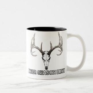 Deer Season Dirty coffee mug