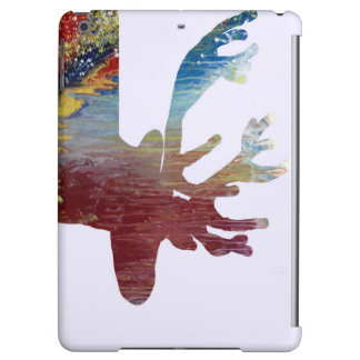 Deer silhouette case for iPad air