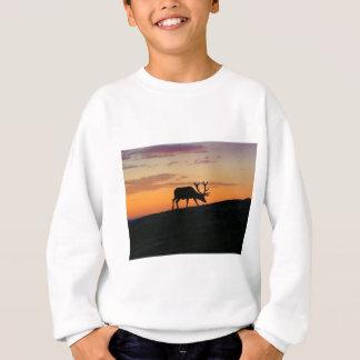 Deer silhouette sweatshirt