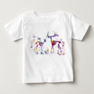 Deer Skeletons Baby T-Shirt