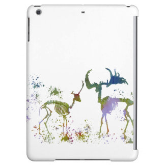 Deer Skeletons iPad Air Cases