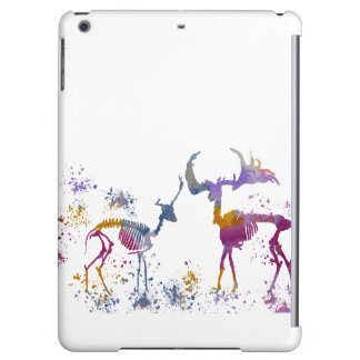 Deer Skeletons iPad Air Cover