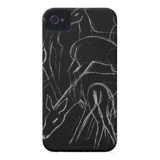 Deer Sketch Case-Mate iPhone 4 Case