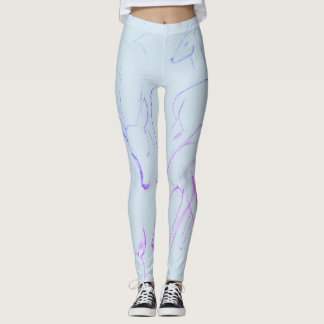 Deer Sketch Study Leggings... Very Art, Much Grace Leggings
