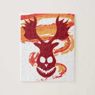 Deer Skull Jigsaw Puzzle