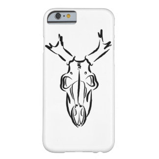 Deer Skull Sketch Barely There iPhone 6 Case