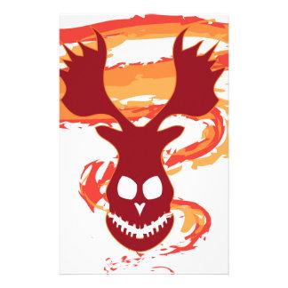 Deer Skull Stationery
