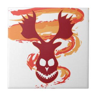 Deer Skull Tile