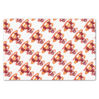 Deer Skull Tissue Paper